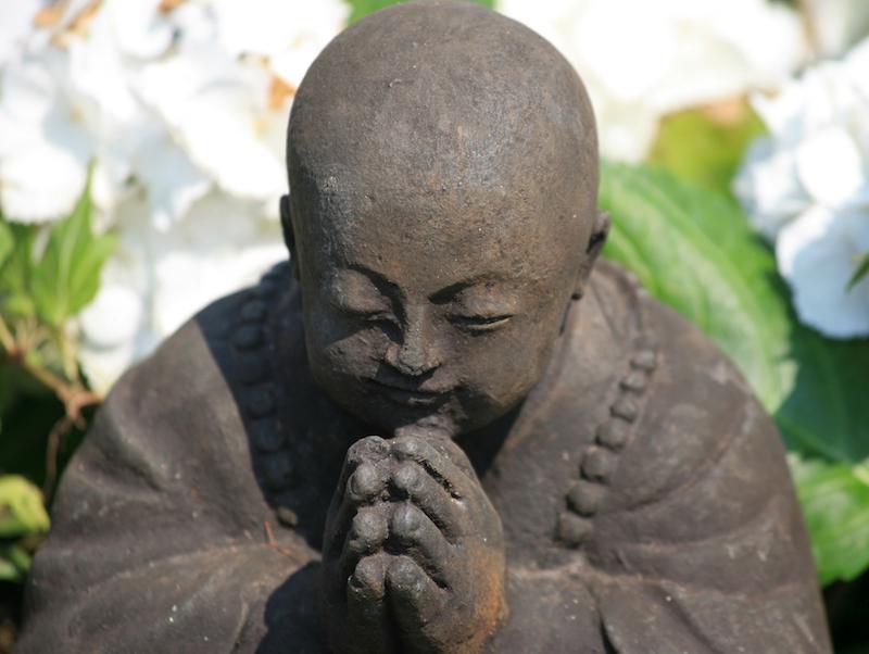 Bowing Buddha