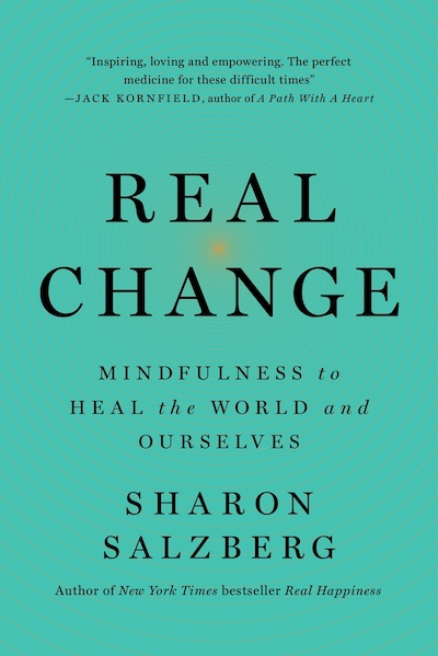 Real Change (book cover), by Sharon Salzberg