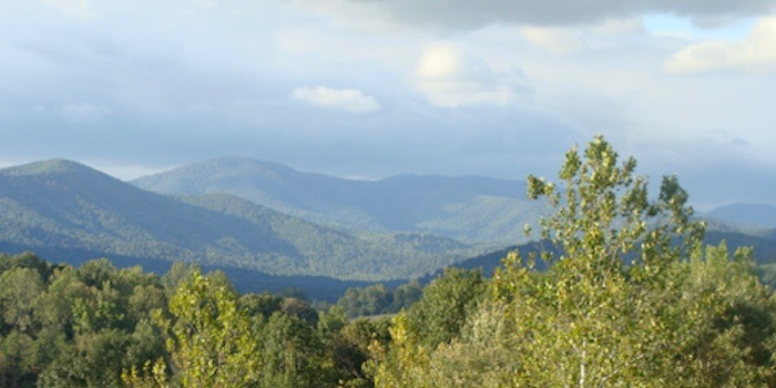 Sevenoaks, Blue Ridge mountains