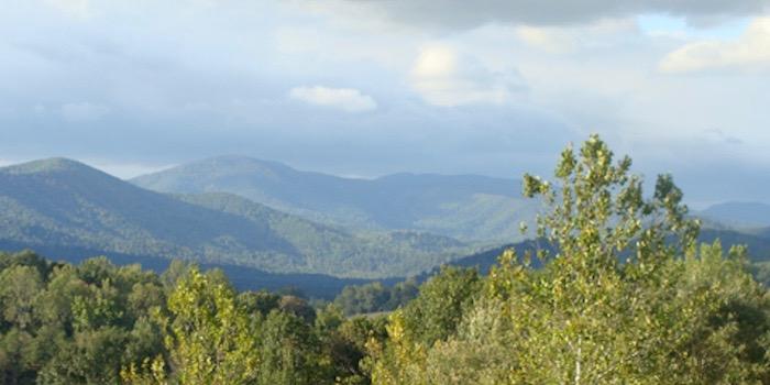 Sevenoaks, Blue Ridge mountains