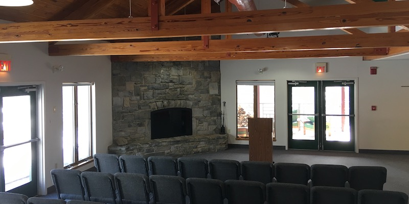 Shepherd's Spring gathering room